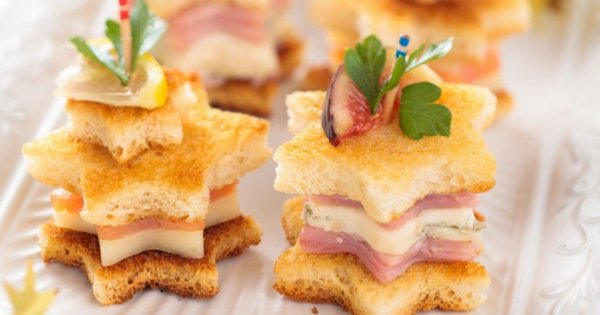 idees recettes toasts noel marie claire