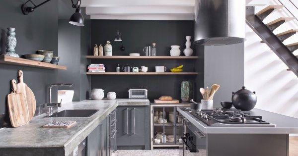 Cuisine grise  nos plus belles inspirations  Marie Claire