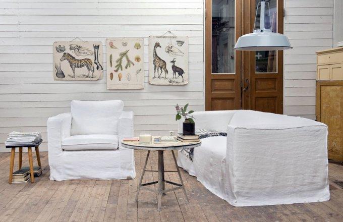 Les Canapés Ikea Shabillent De Housses Style Vintage