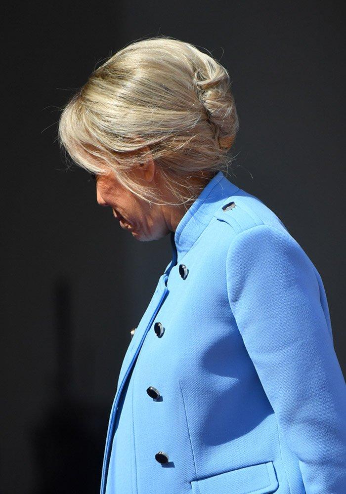 Comment faire le chignon de Brigitte Macron   Marie Claire