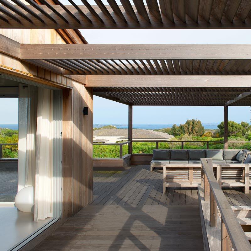 Inspiration  des terrasses paradisiaques au bord de leau  Marie Claire