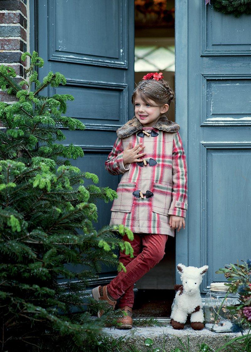 Patron de couture gratuit  un manteau pour enfant  Marie Claire