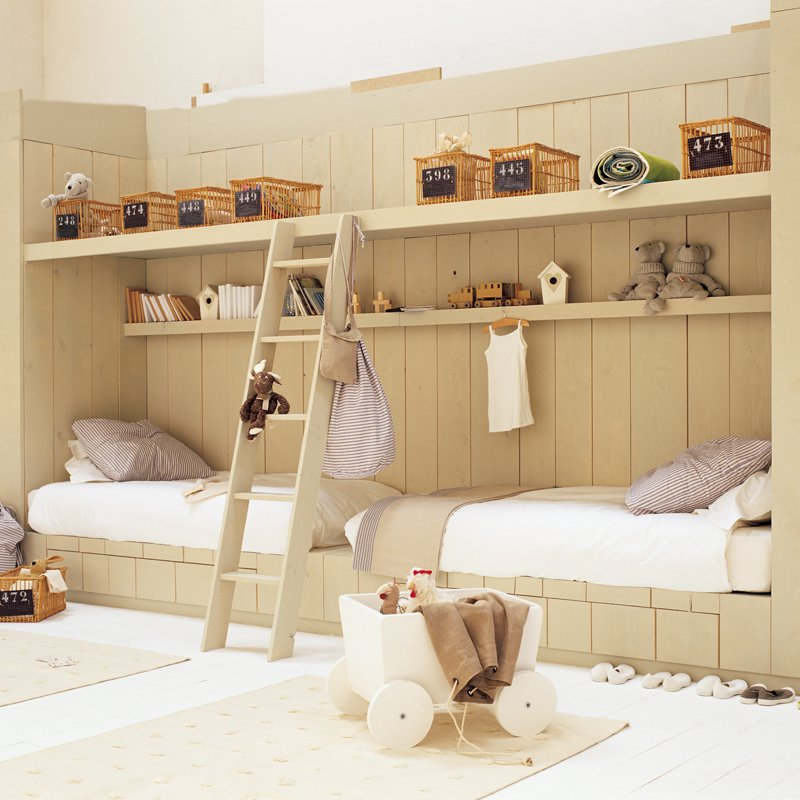 Une chambre denfant en bois  Marie Claire