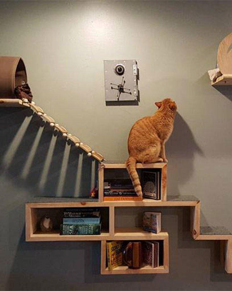 5 DIY pour fabriquer un arbre  chat  Marie Claire