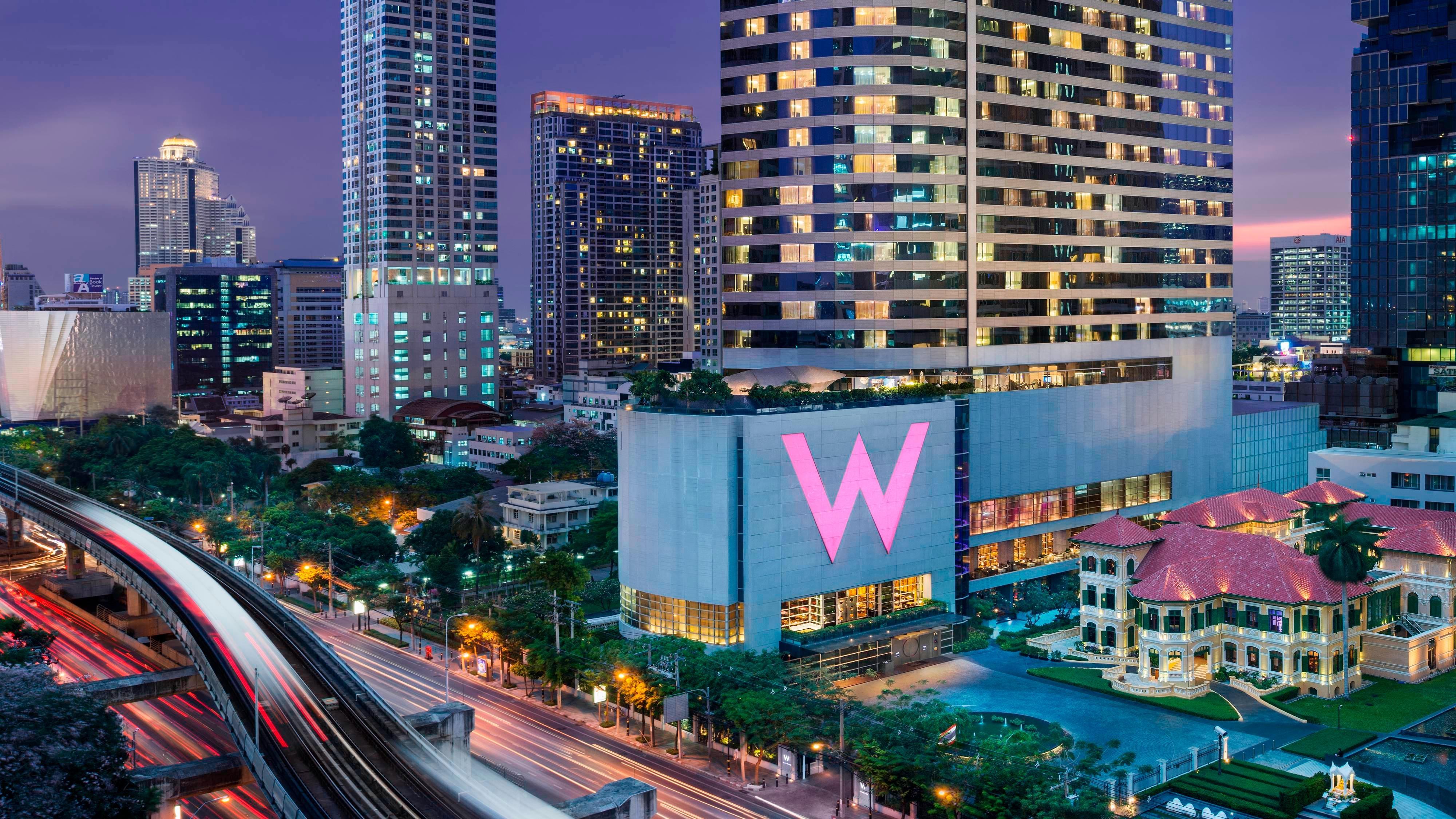 5 Star Hotel In Bangkok Near Bts W Bangkok