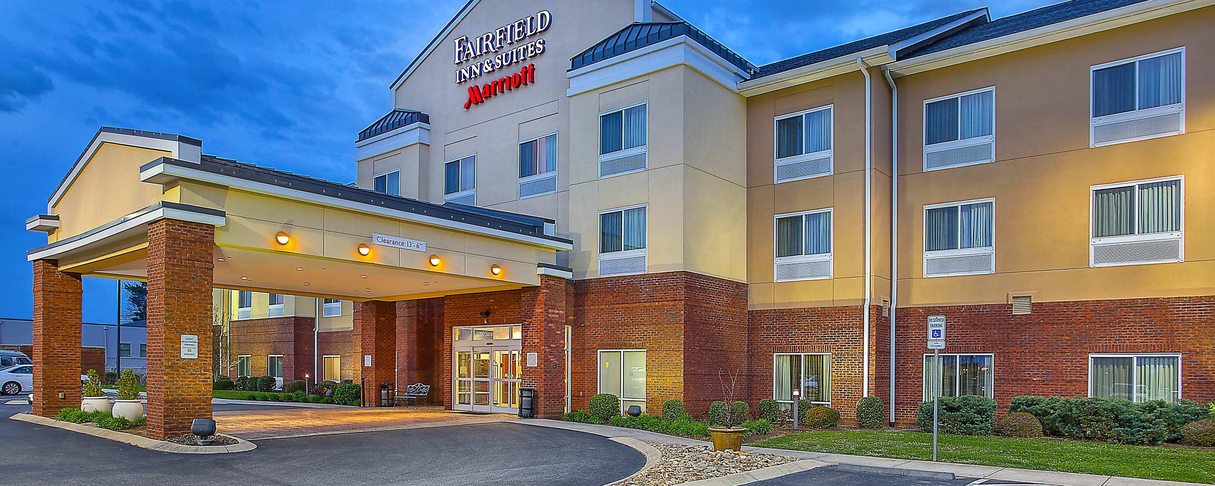 Hotels in Cookeville TN near Baxter  Fairfield Inn