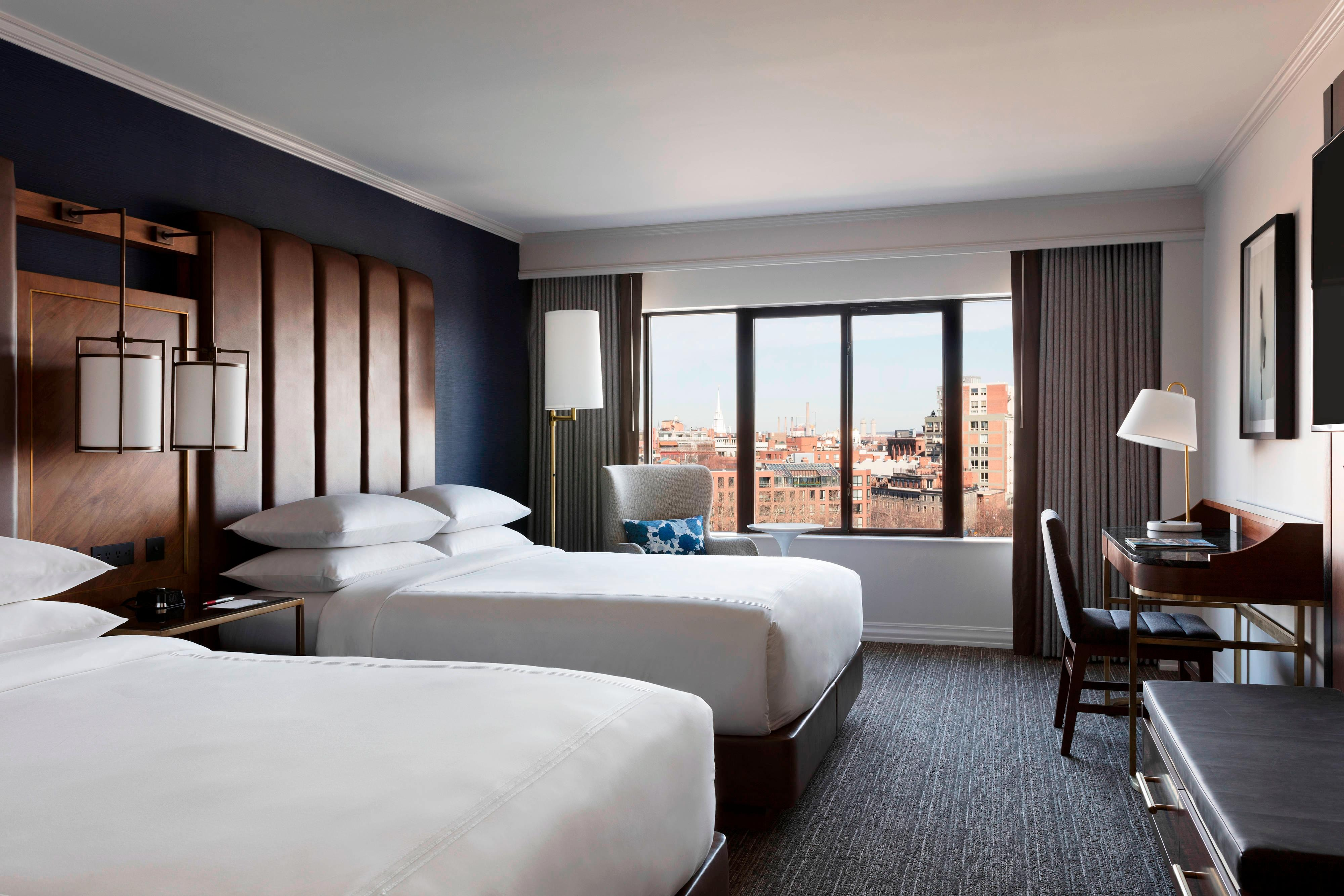 Luxury Hotel Rooms In Boston Ma Marriott Long Wharf