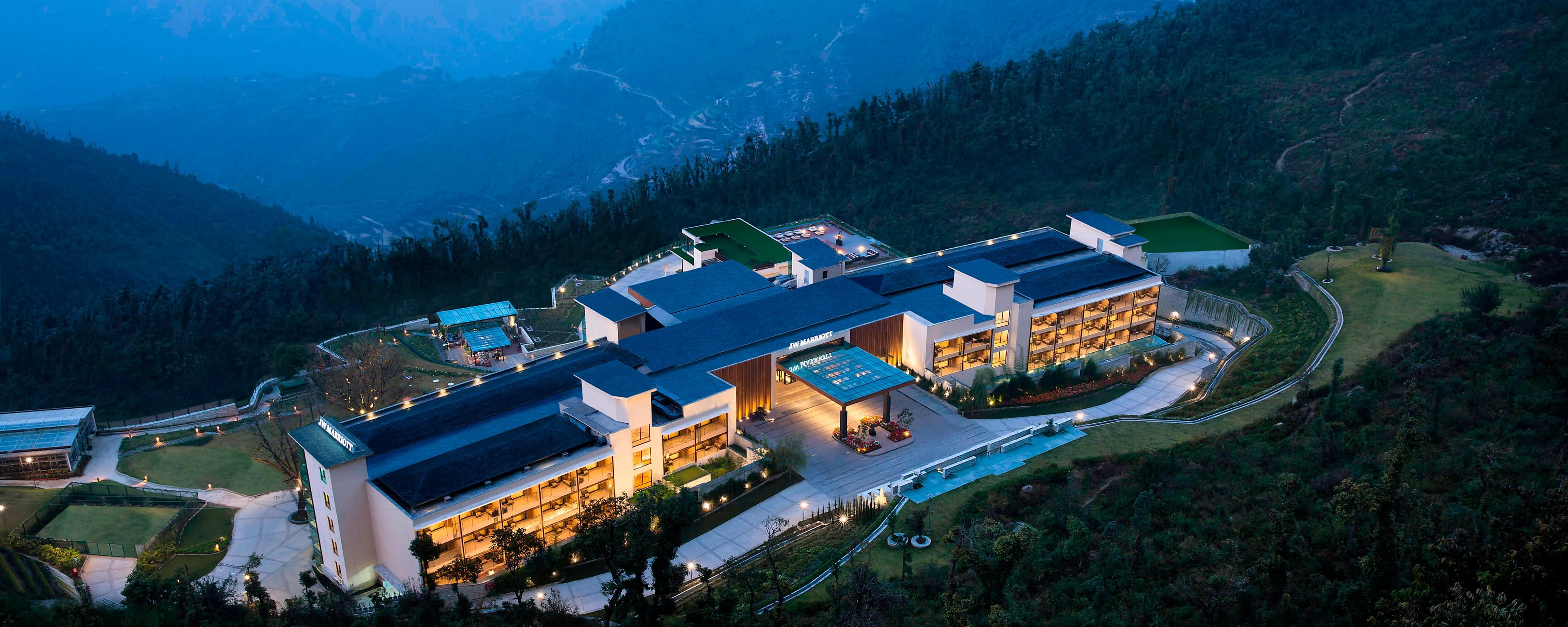 5Star Hotel in Mussoorie  JW Marriott Mussoorie Walnut Grove Resort  Spa