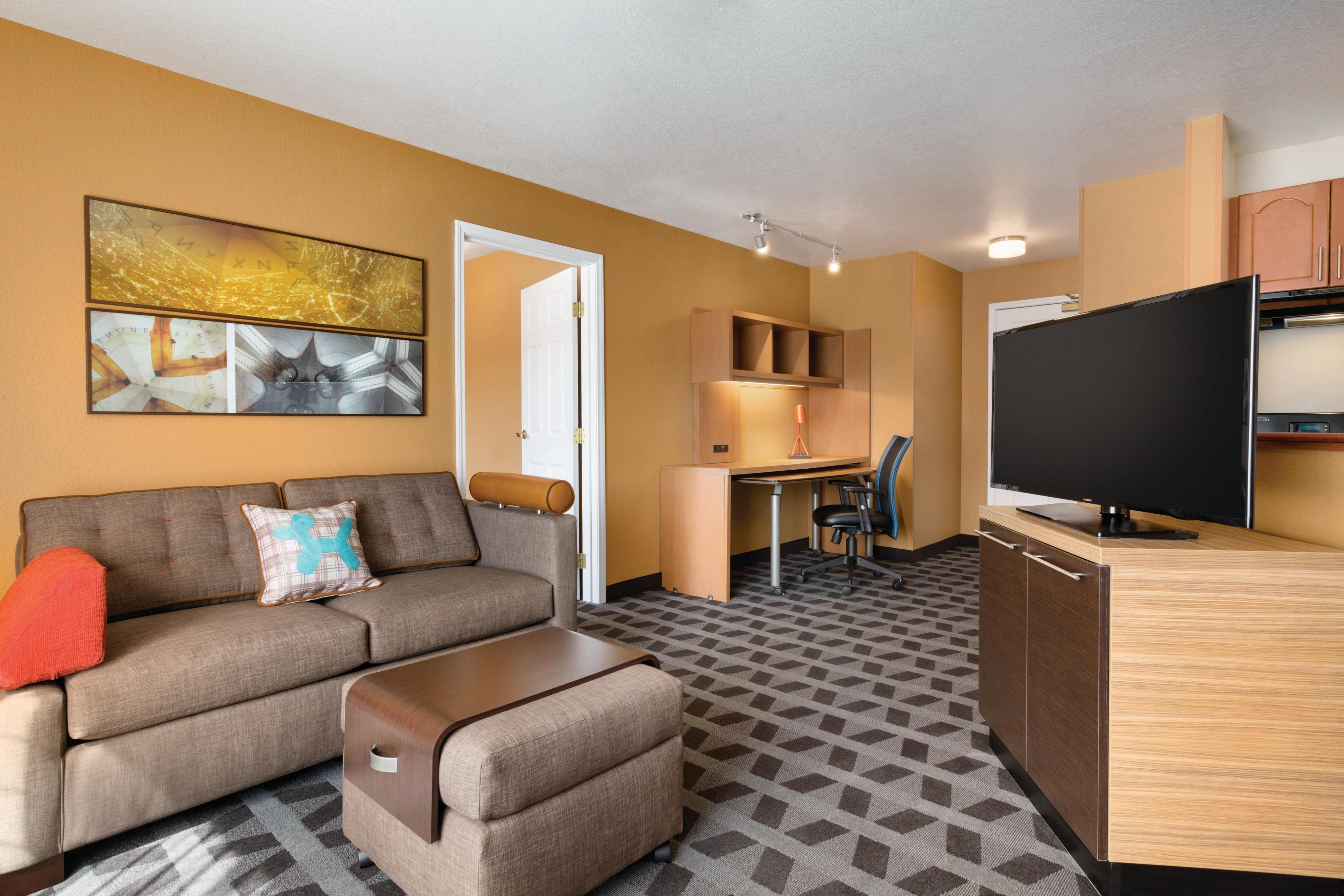 Check out our modern Denver Hotel Suites