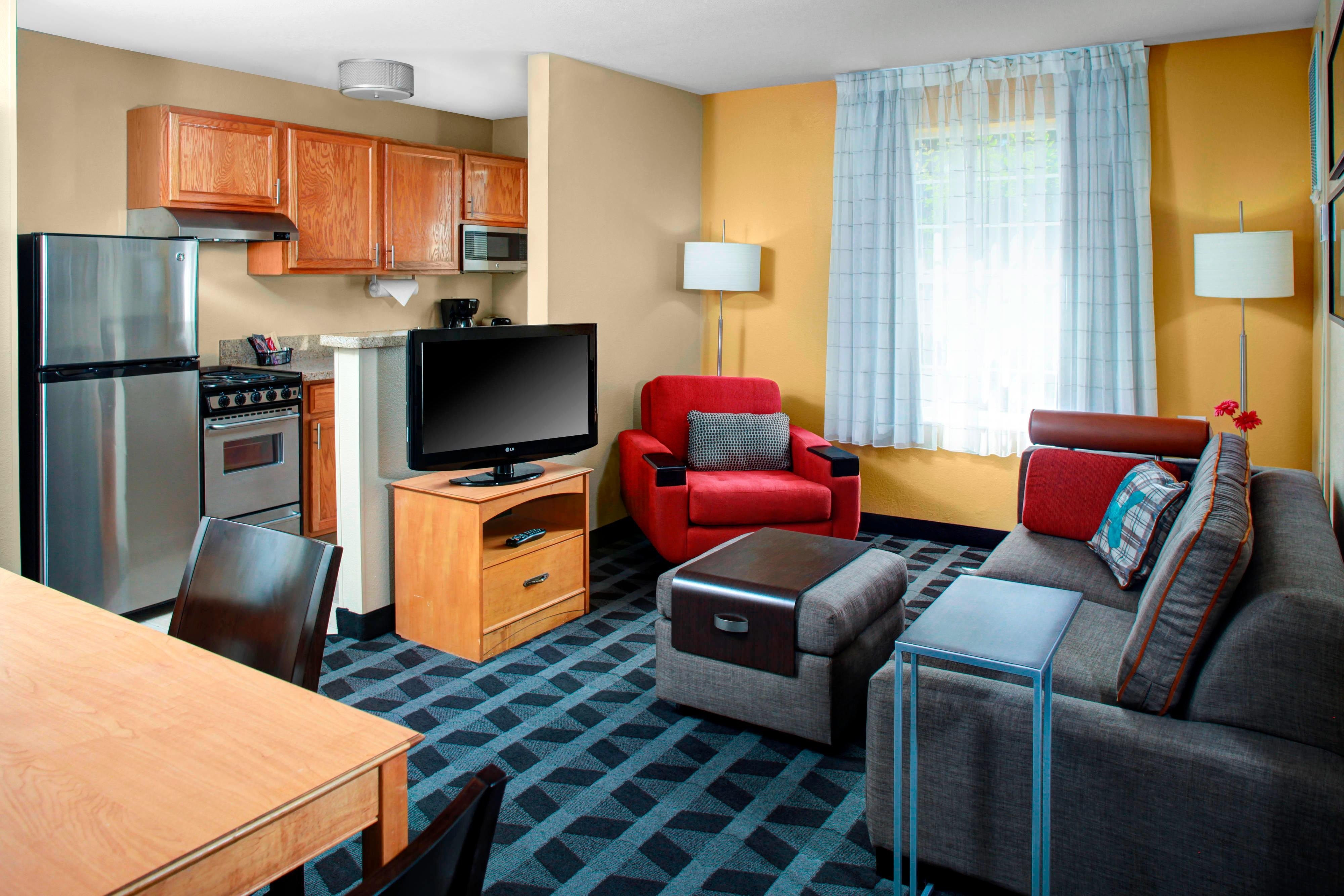 Extended Stay Hotel In Fresno California Towneplace Suites
