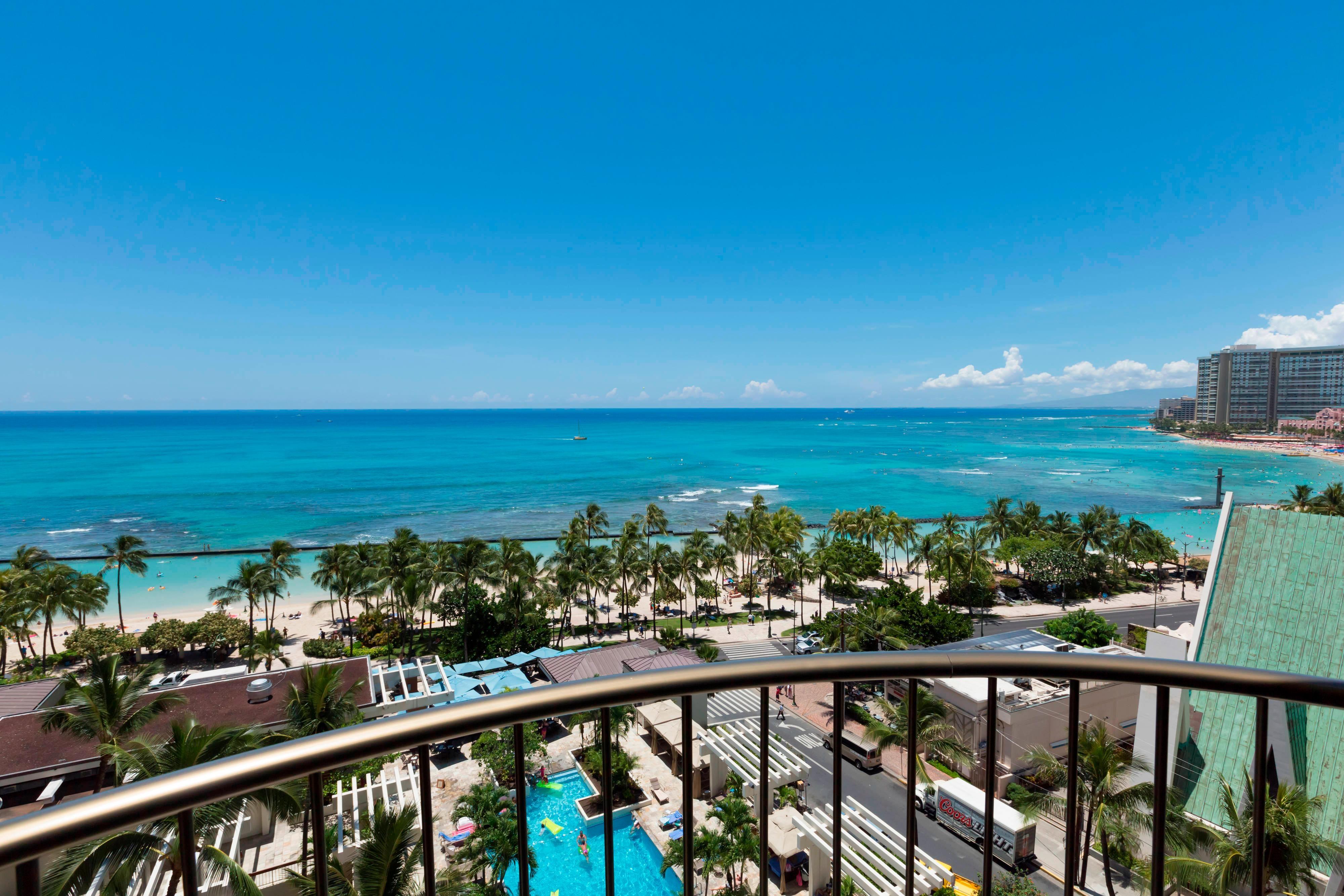 Waikiki Oceanfront Hotel Oahu Beach Marriott