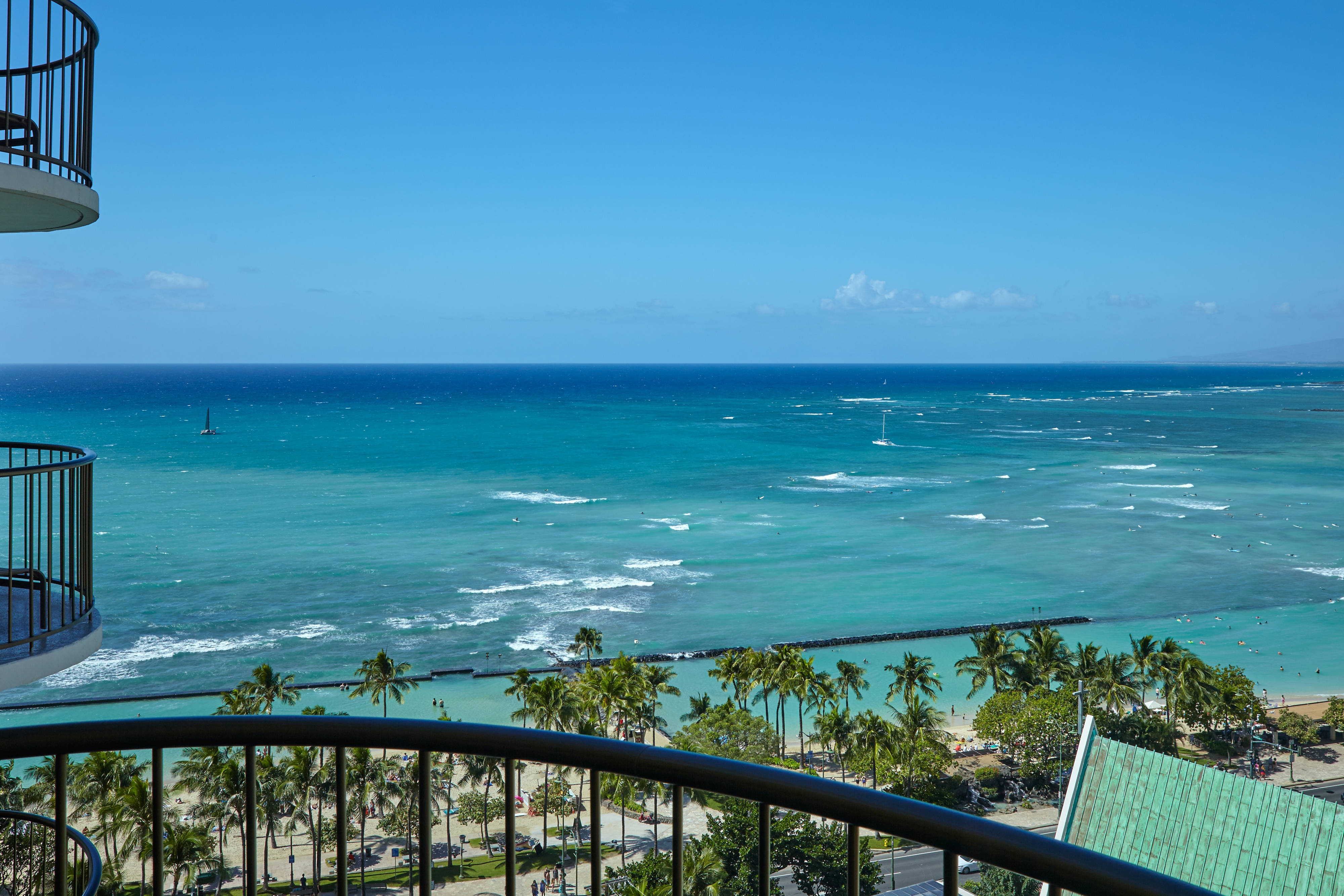 Waikiki Oceanfront Hotel Oahu Beach Marriott