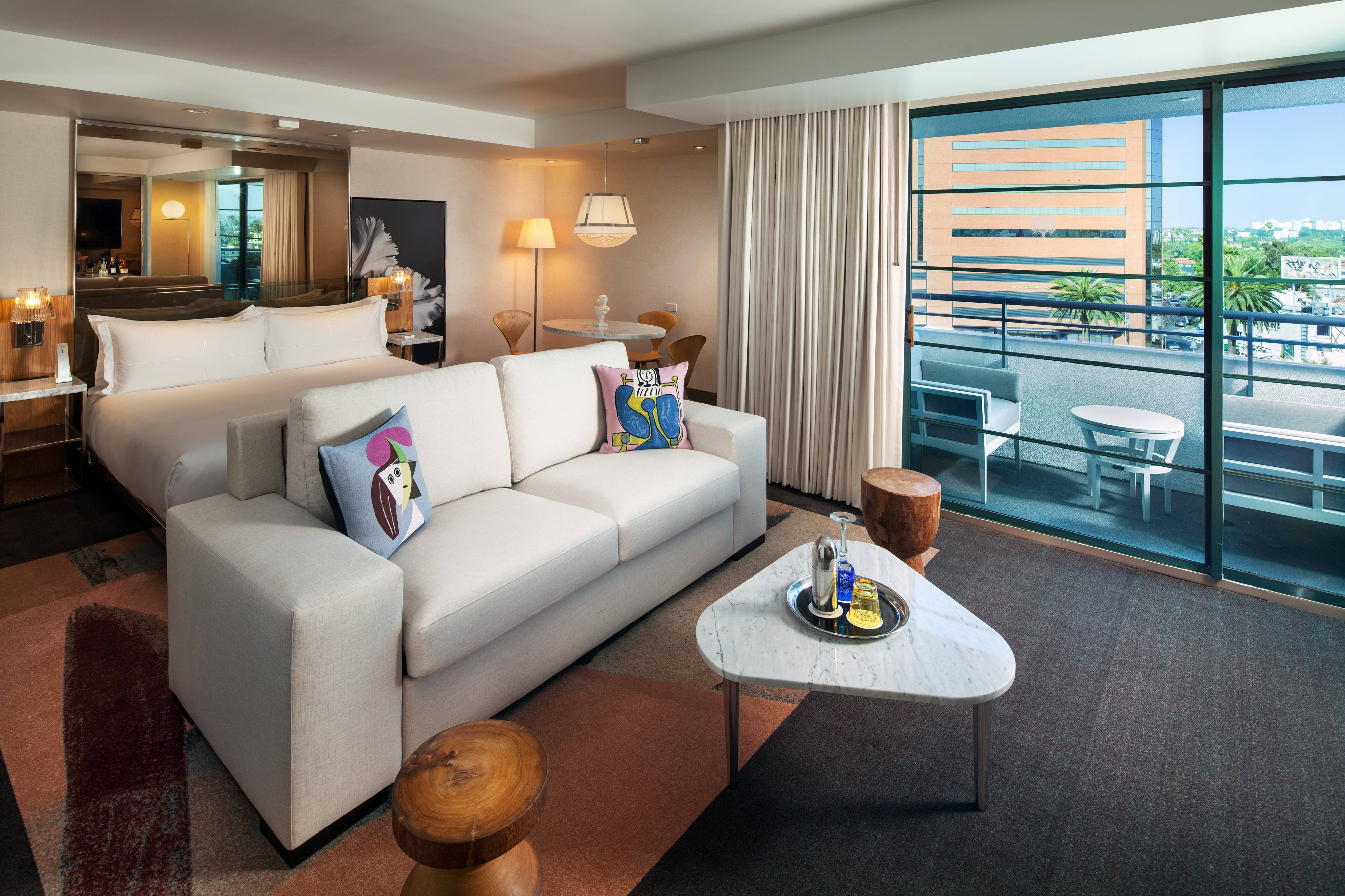 Beverly Hills Hotel Rooms Sls Luxury Collection