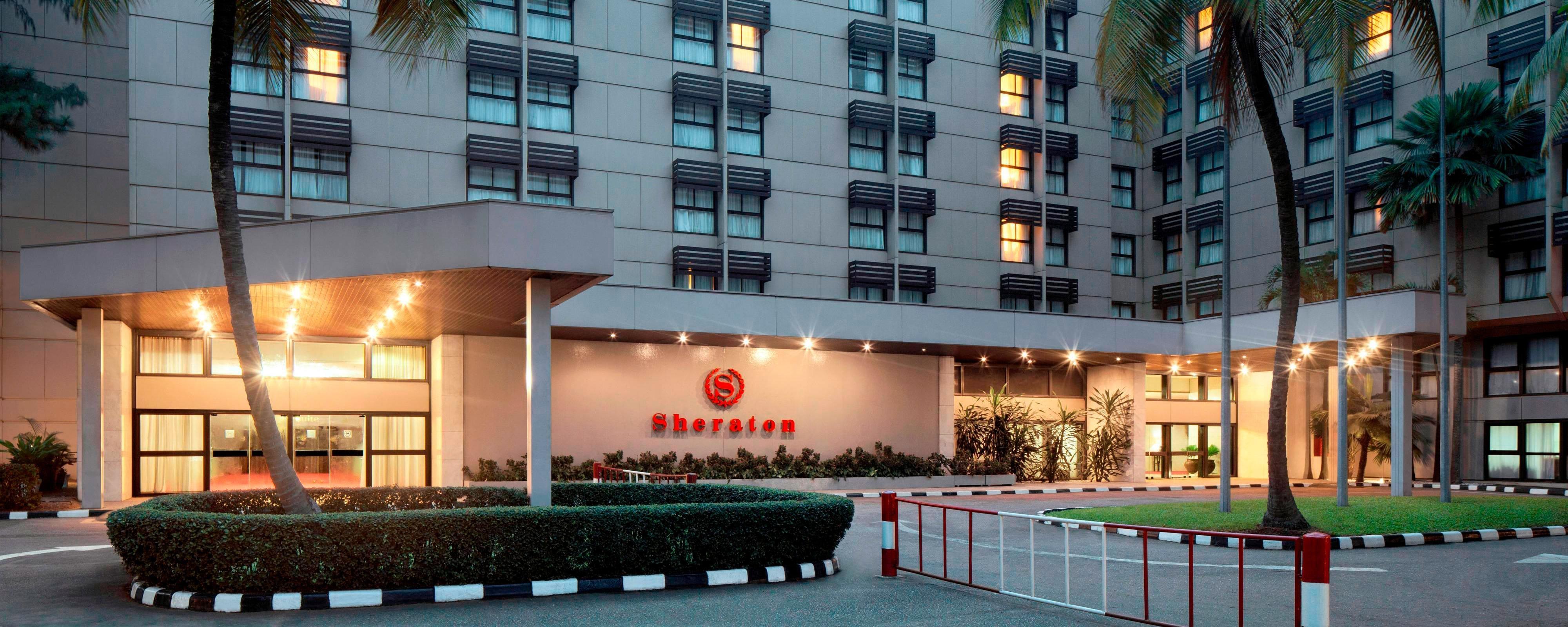 Airport Hotel In Lagos Nigeria Sheraton Lagos Hotel