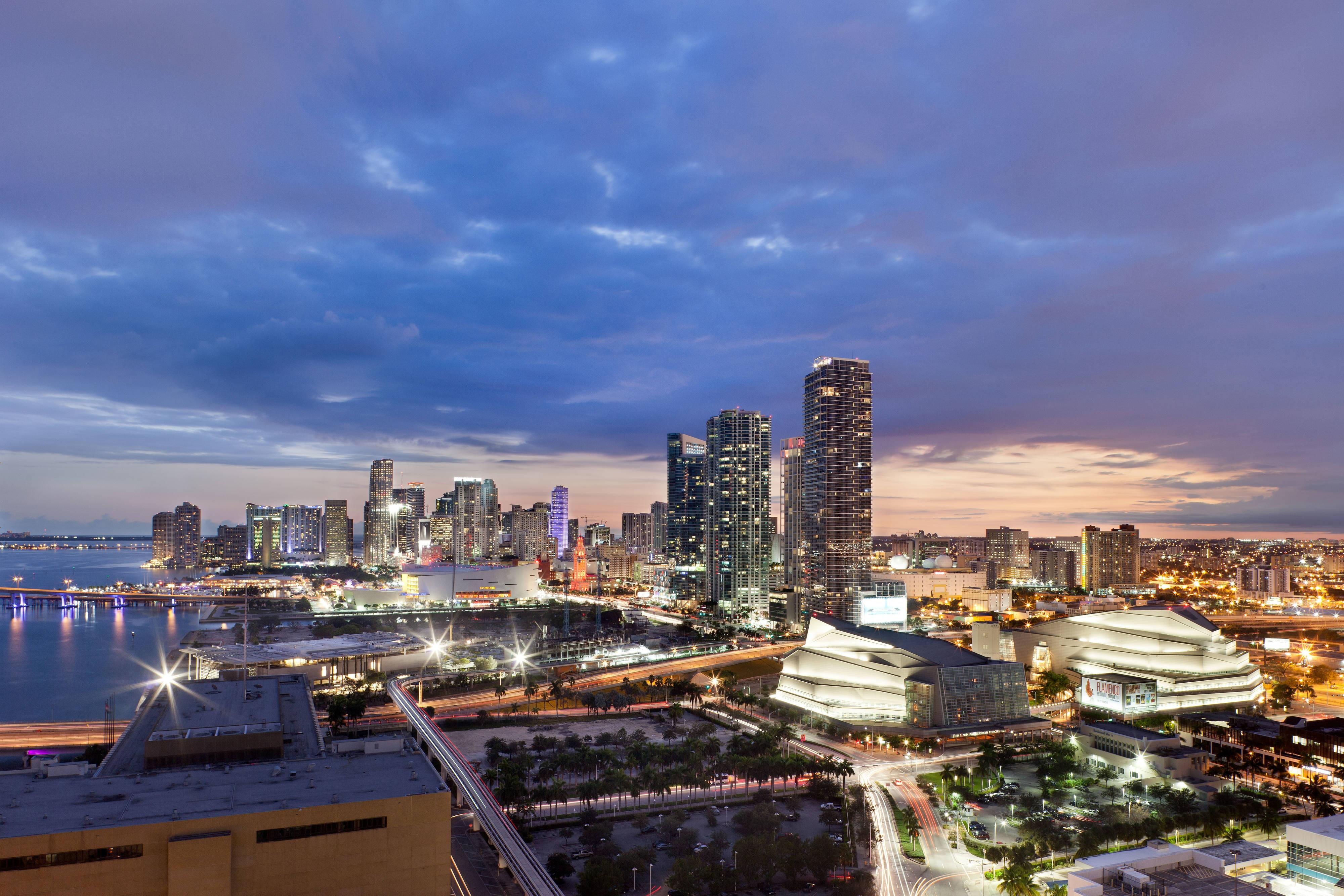 Downtown Miami Florida Hotel Port Marriott
