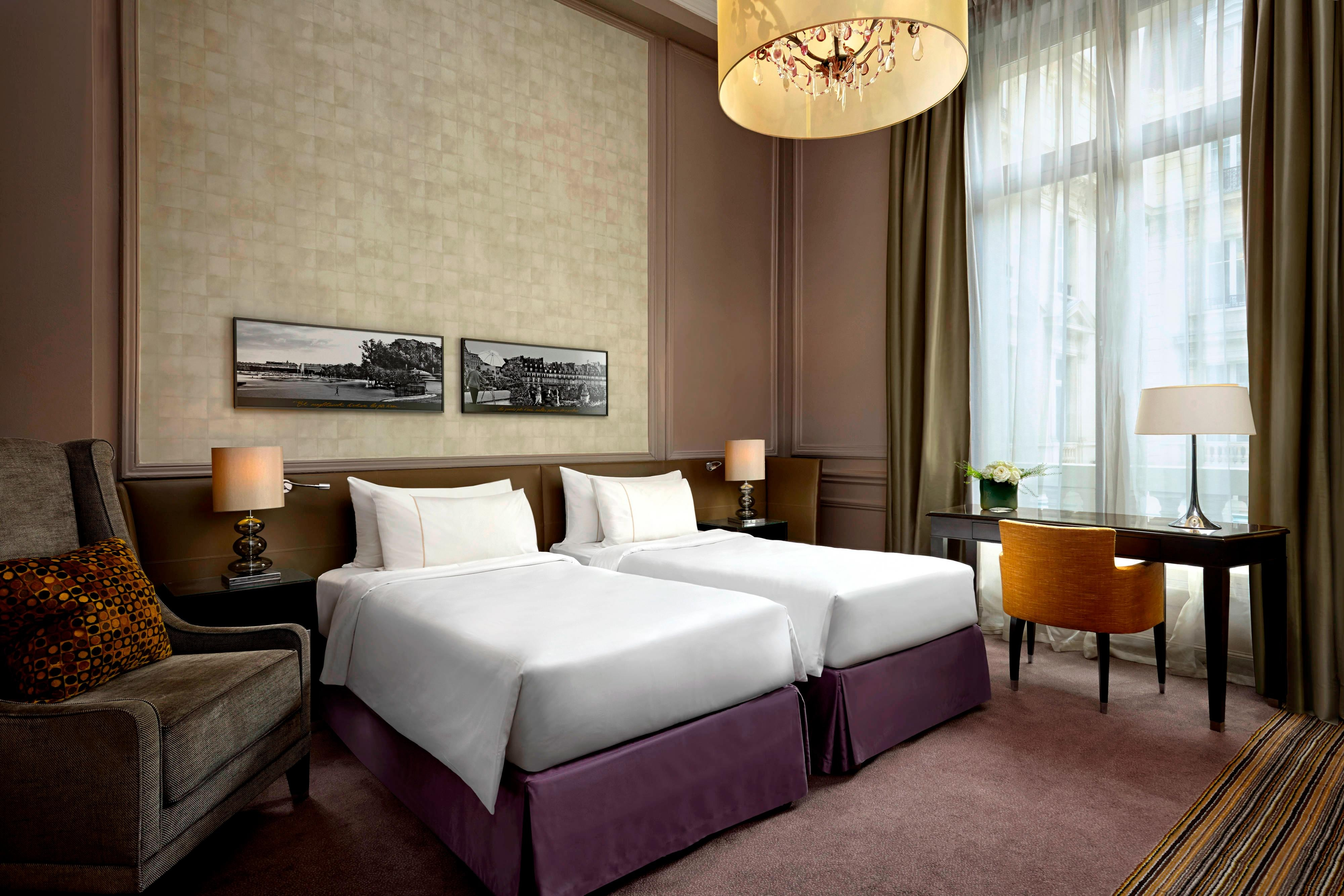 Westin Paris Vendome Hotel Room