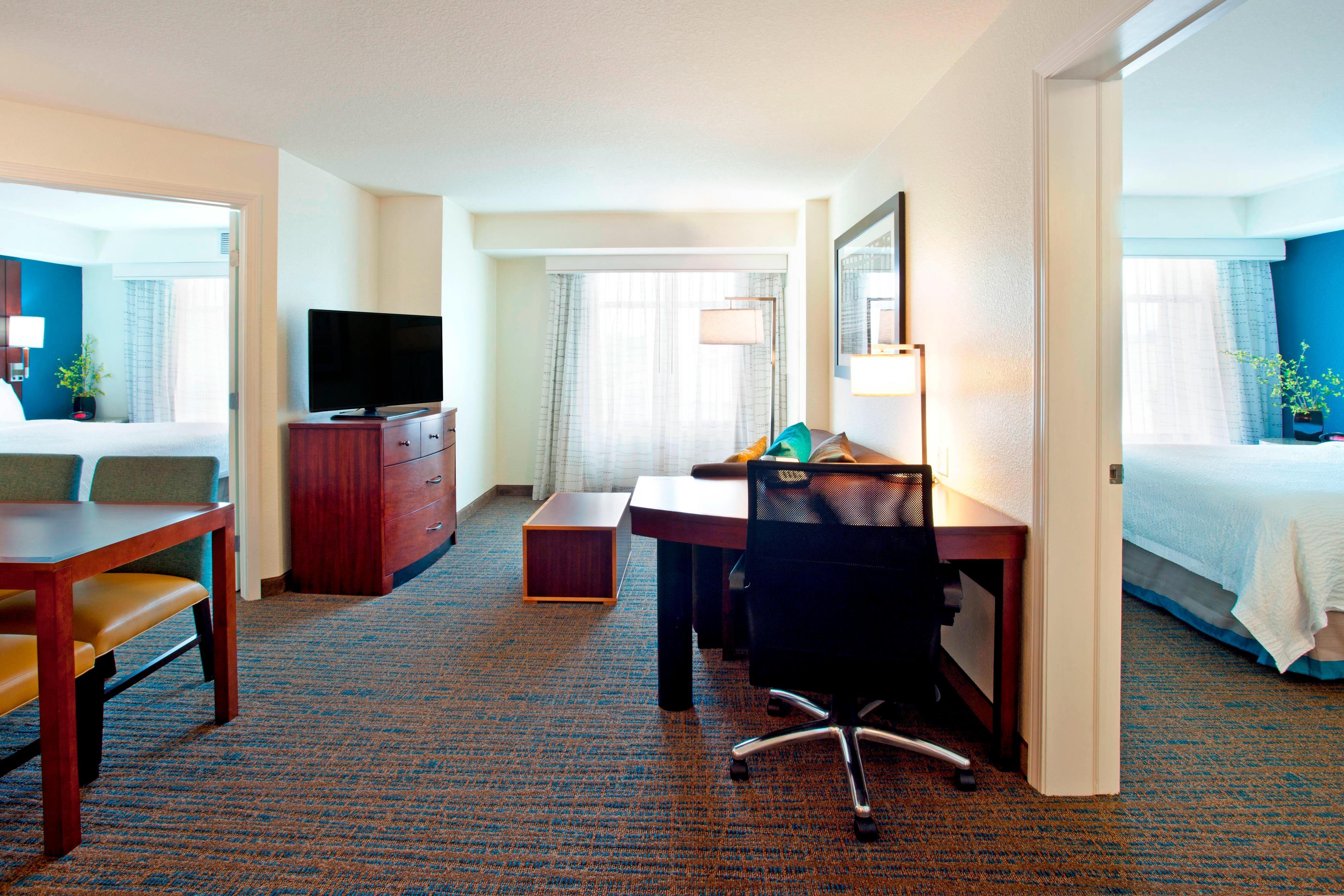 Spacious Guest Rooms Residence Inn Marriott