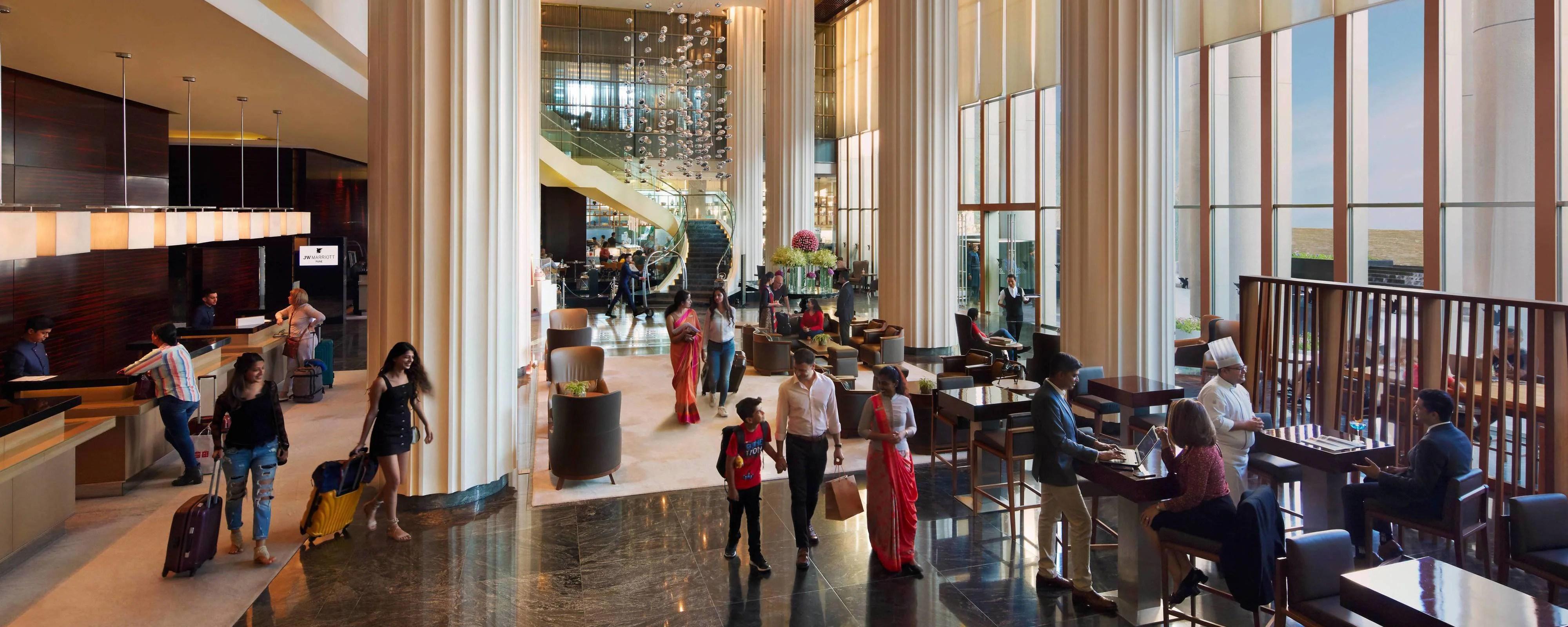 5 Star Luxury Hotel In Pune Jw Marriott Hotel Pune