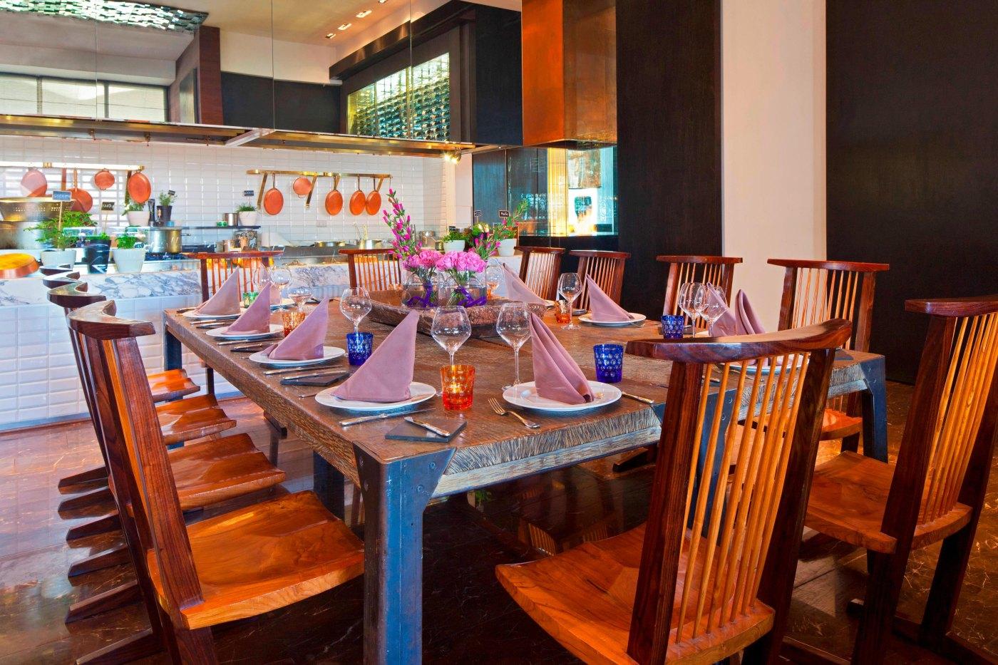 Restaurante NoSo - Mesa do chefe