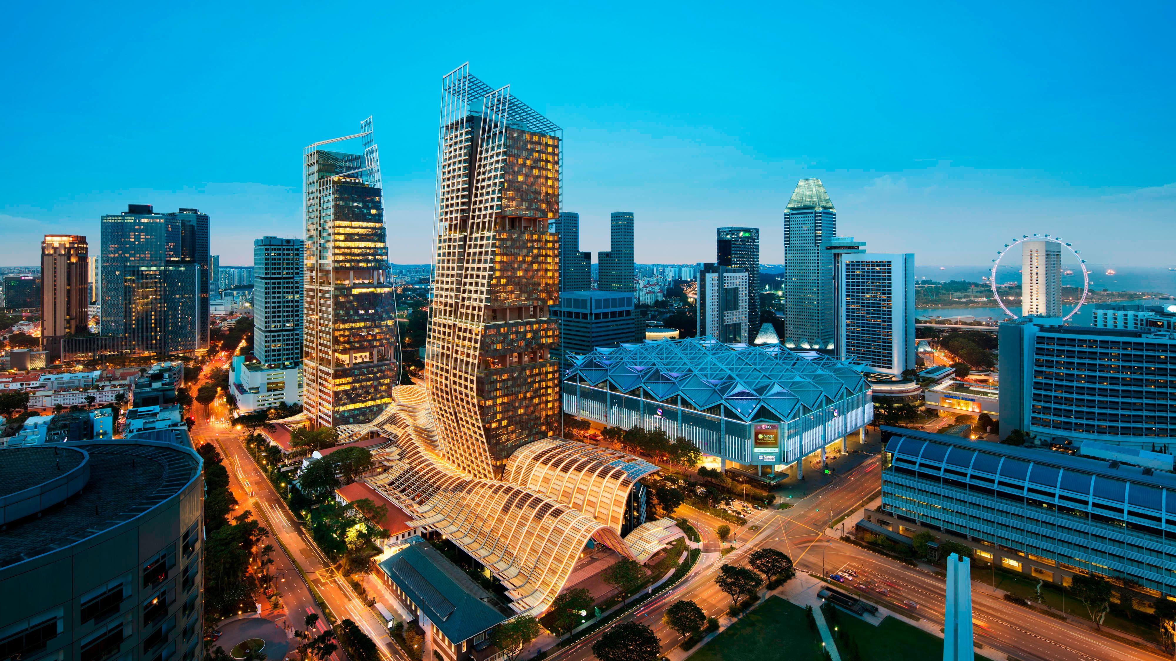 5 Star Designer Hotel Downtown Singapore City Centre Jw