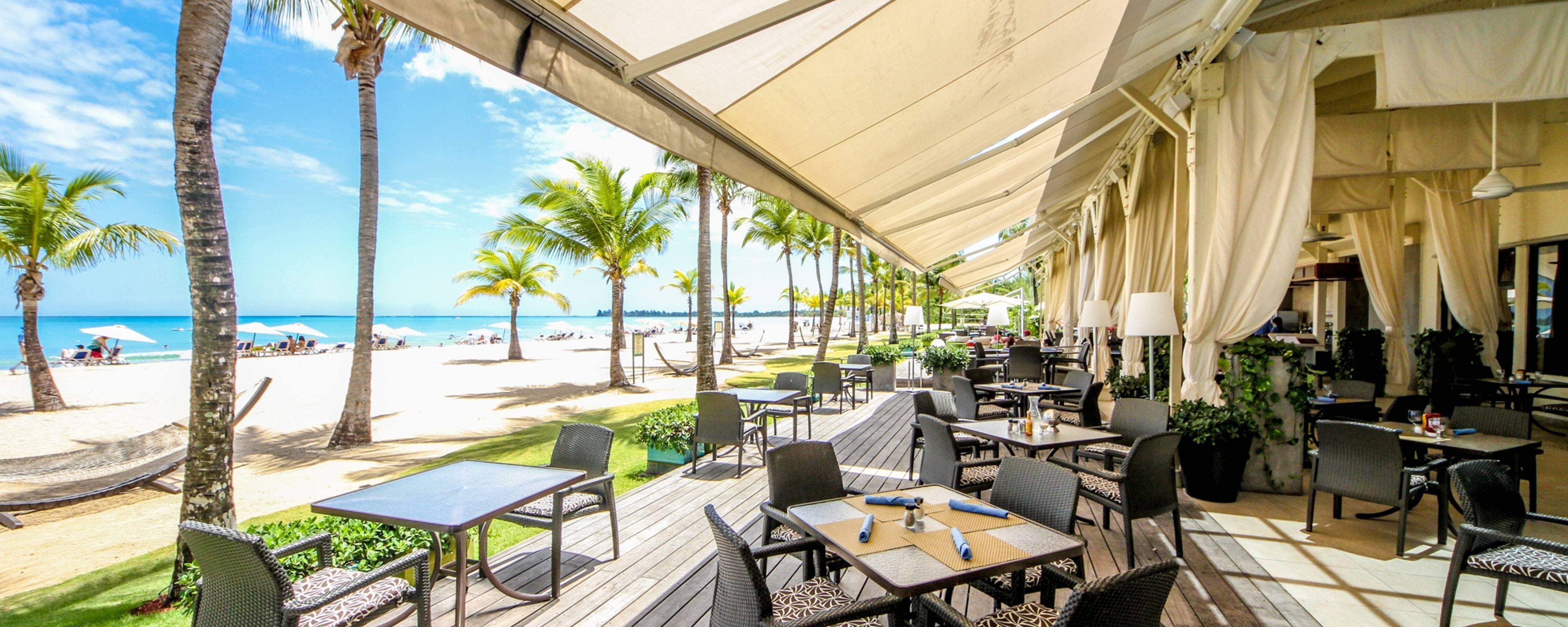 Isla Verde Puerto Rico Seafood Restaurant  Courtyard Isla Verde Beach Resort
