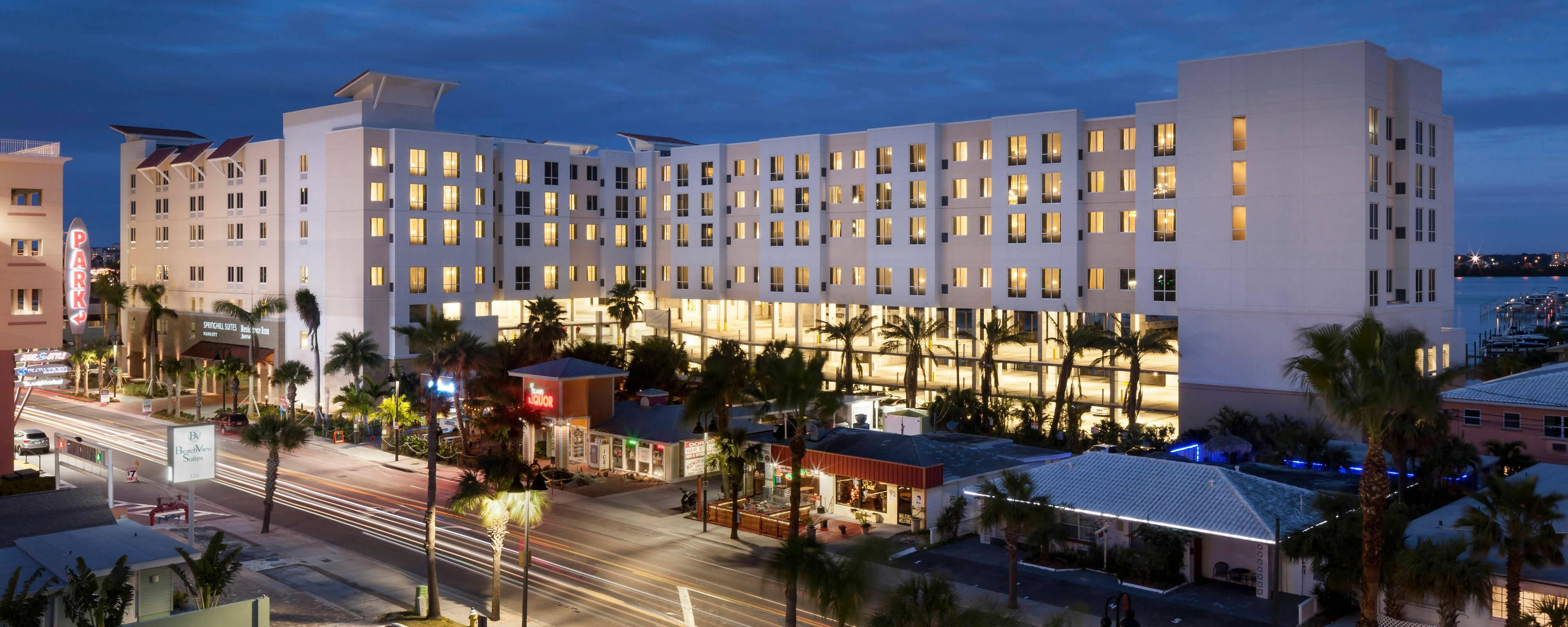 Hotels in Clearwater Beach Florida  Residence Inn