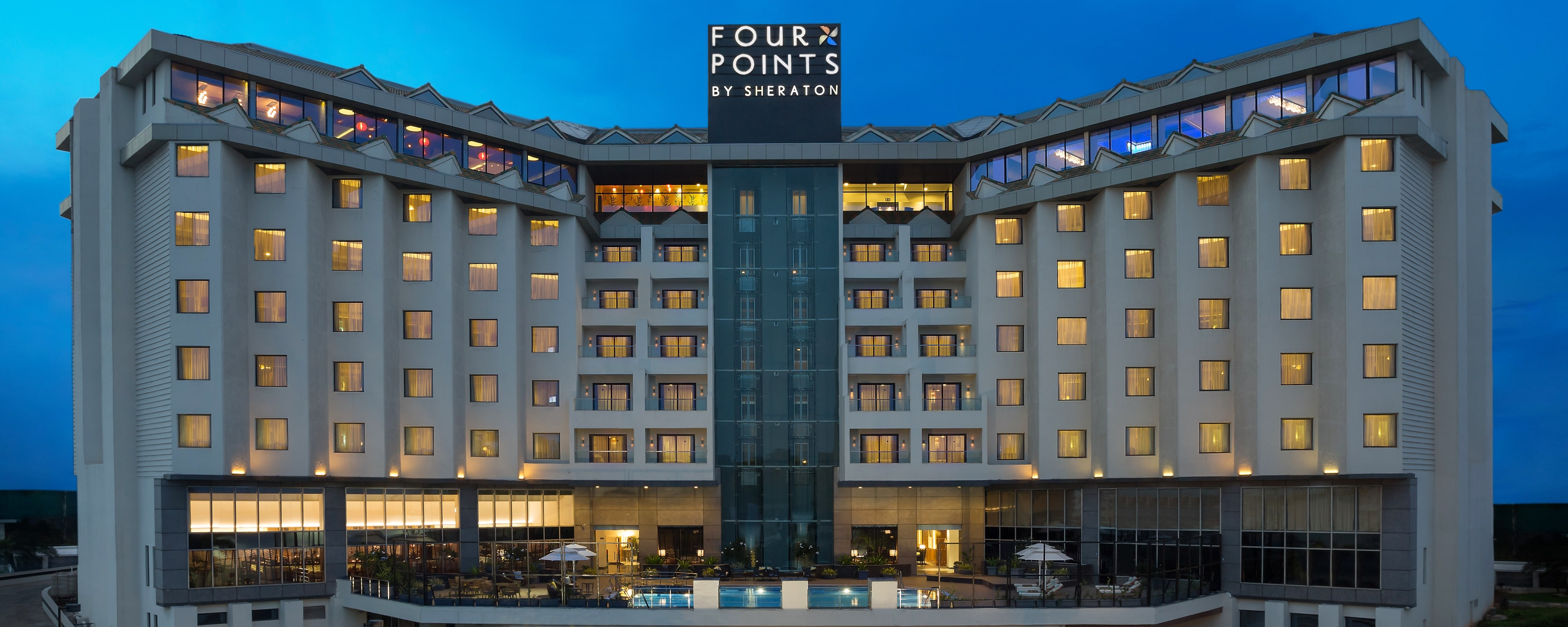 Rk Beach Hotel In Visakhapatnam India Four Points By