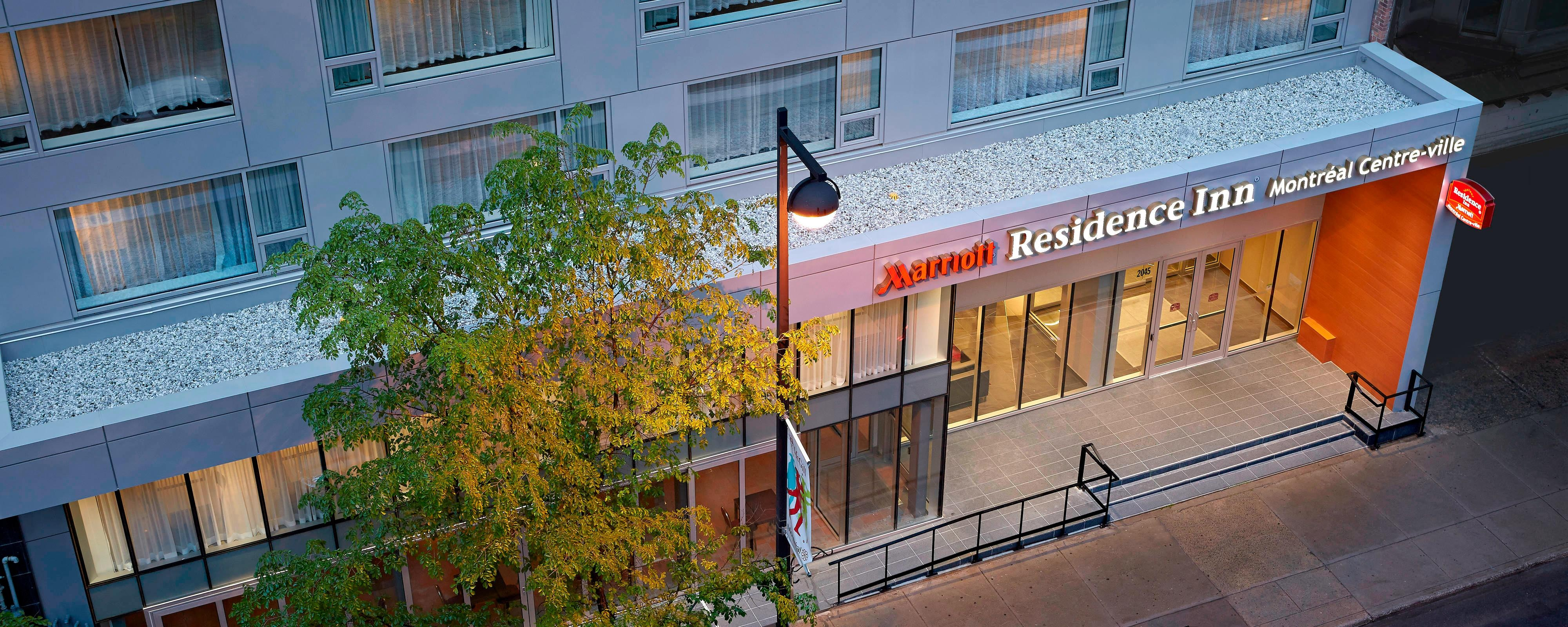 Downtown Montreal Hotels Residence Inn Montreal Downtown