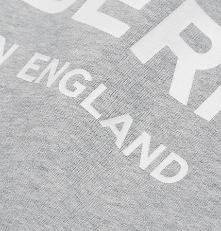 Burberry Logo-print MÉlange Loopback Cotton-jersey