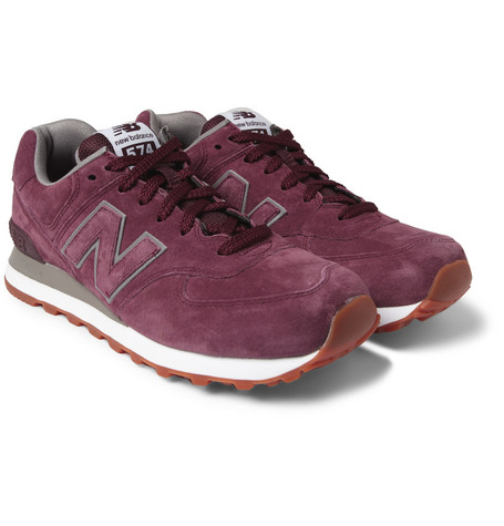 New Balance574 Suede Sneakers