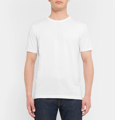 A white t-shirt is essential