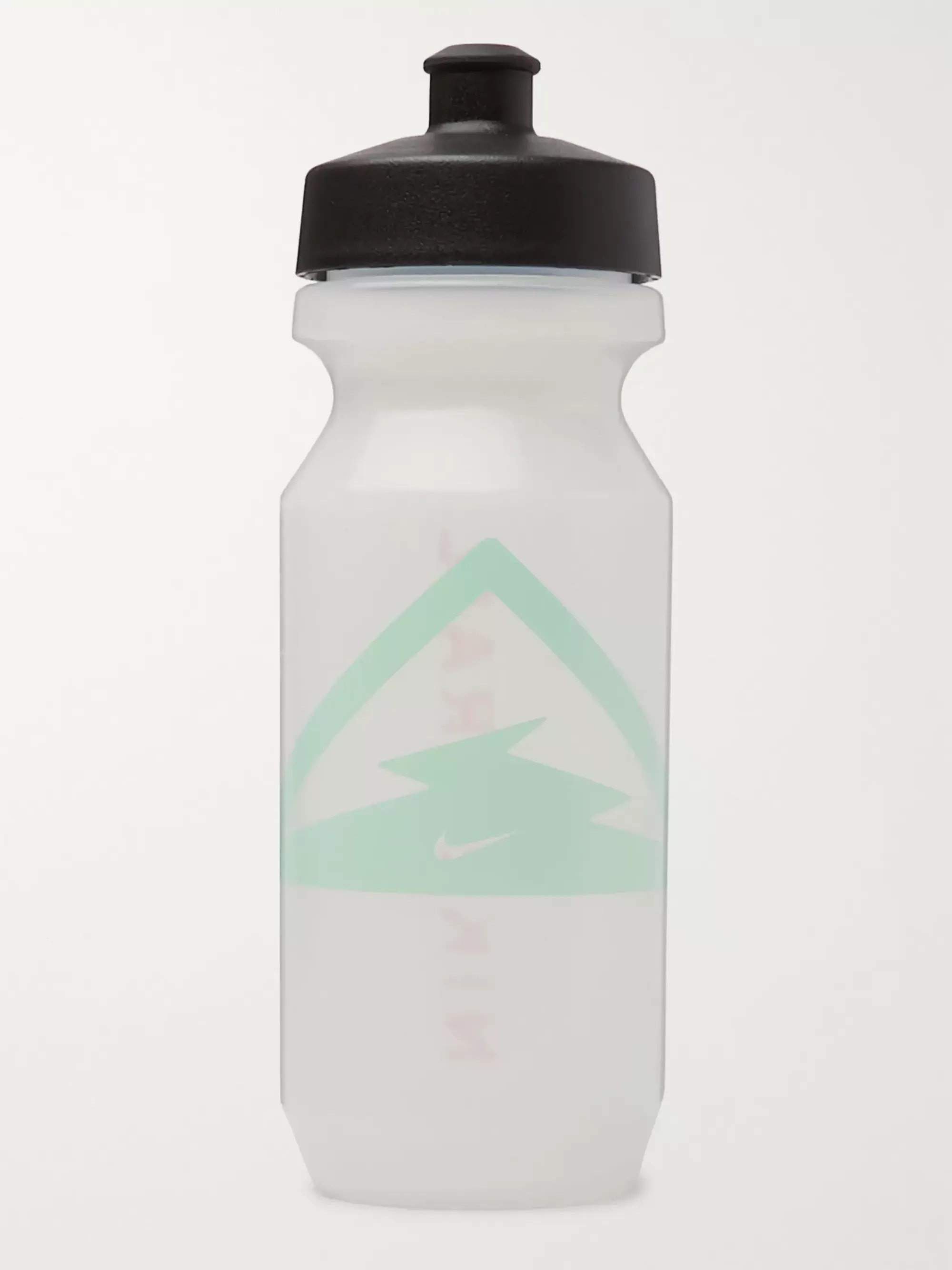 White Trail Big Mouth Printed Leak Proof Water Bottle