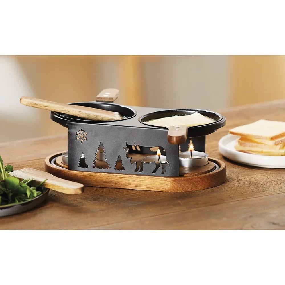 set a raclette a la bougie