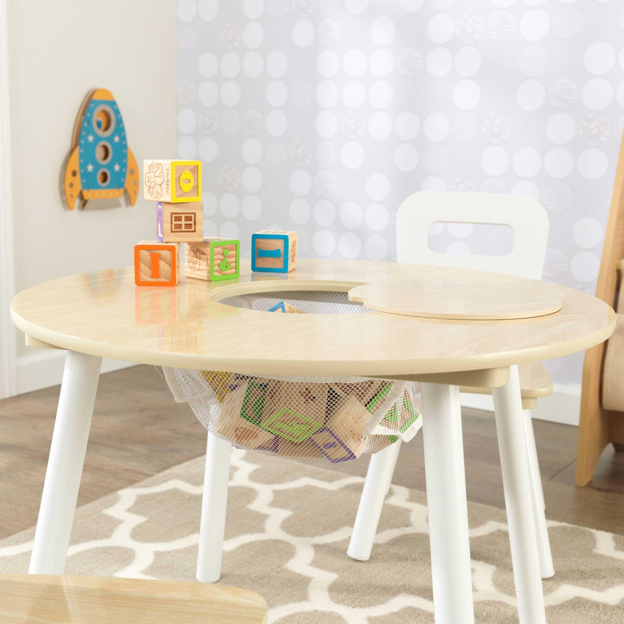table enfant ronde et 2 chaises