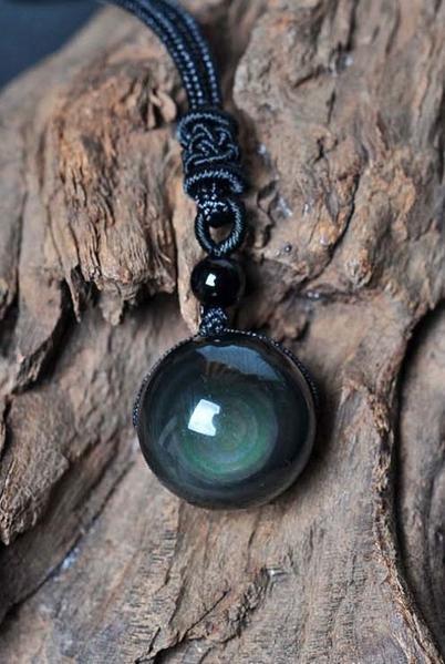 Obsidienne Arc En Ciel : obsidienne, Collier, Obsidienne, Nature, Découvertes