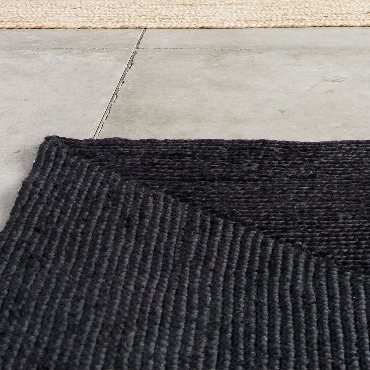tapis jute naturel rectangulaire
