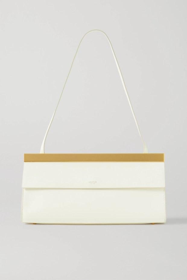 Oroton Jerome Baguette leather shoulder bag