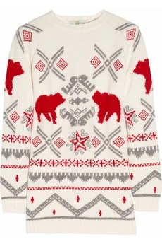 Stella McCartney novelty Christmas jumper