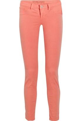 811 mid-rise twill skinny jeans J Brand £200