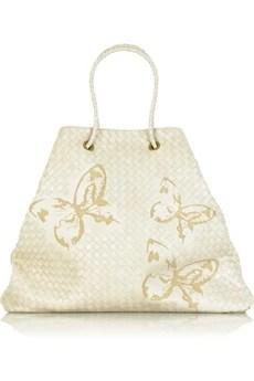 Bottega VenetaButterfly intrecciato bag
