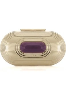 Jimmy Choo Kase oval clutch
