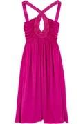 Roberto CavalliCross front mini dress