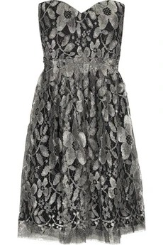 Thurley Lace mini dress £450