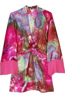 SingleSilk kimono tunic