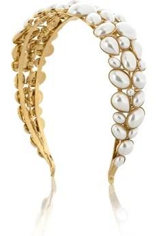 Louis MariettePearl-embellished headband