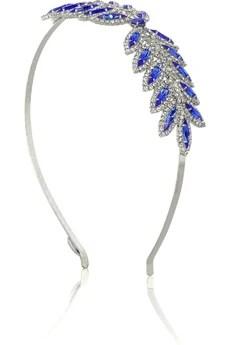 Louis MarietteVivienne crystal-studded headband