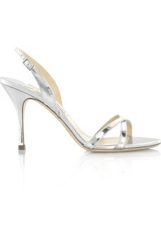 Jimmy Choo India mirrored leather sandals