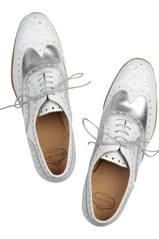 Church's Burwood metallic brogues