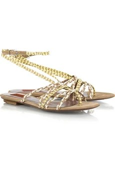 Missoni Woven leather sandals