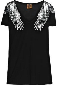 Tory BurchCaledonia foil-print T-shirt